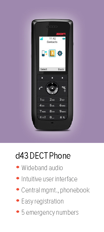 d43 DECT Phone