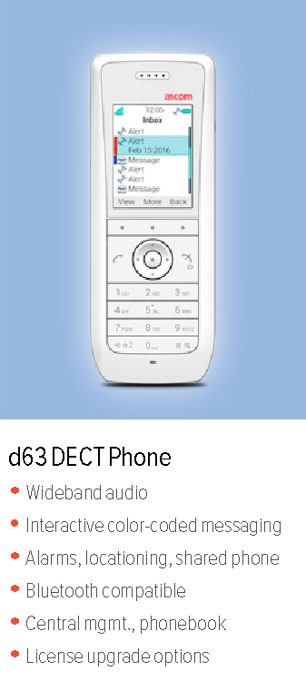 d63 DECT Phone