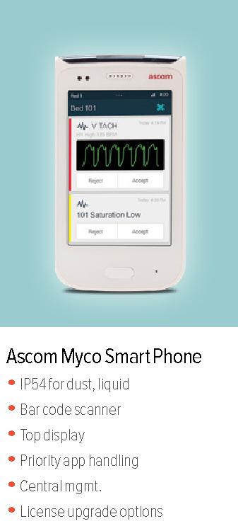 Ascom Myco Smart Phone